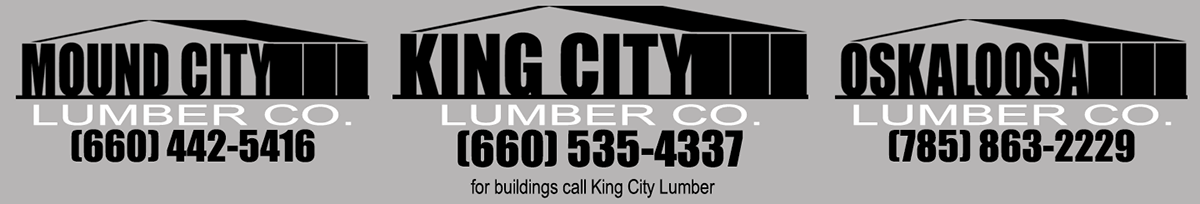 King City Lumber, Mound City Lumber, Osaloosa Lumber