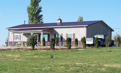 Pole Barns as Homes