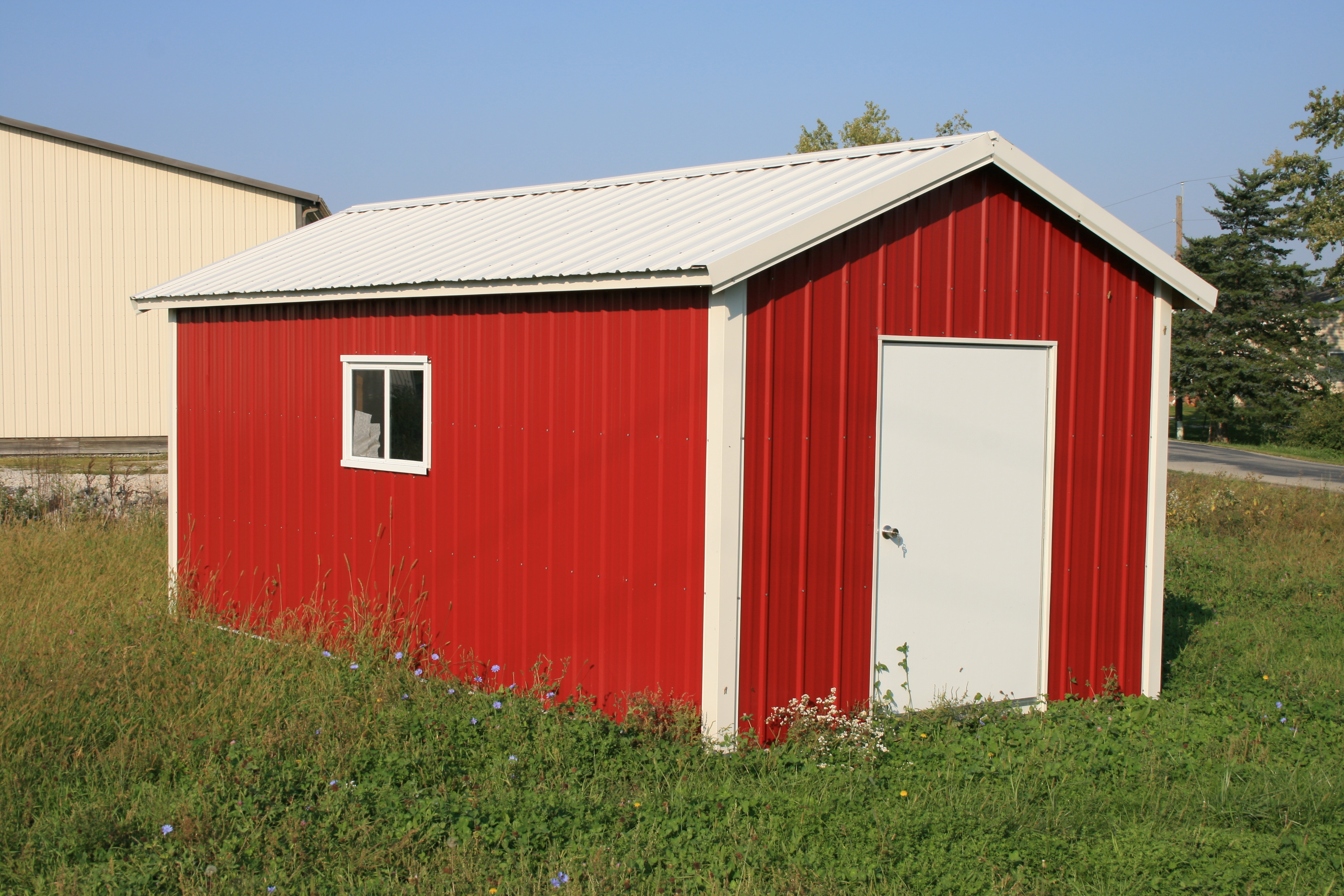 Shelter King Portable Garages : Portable tool sheds shelters king city lumber mound
