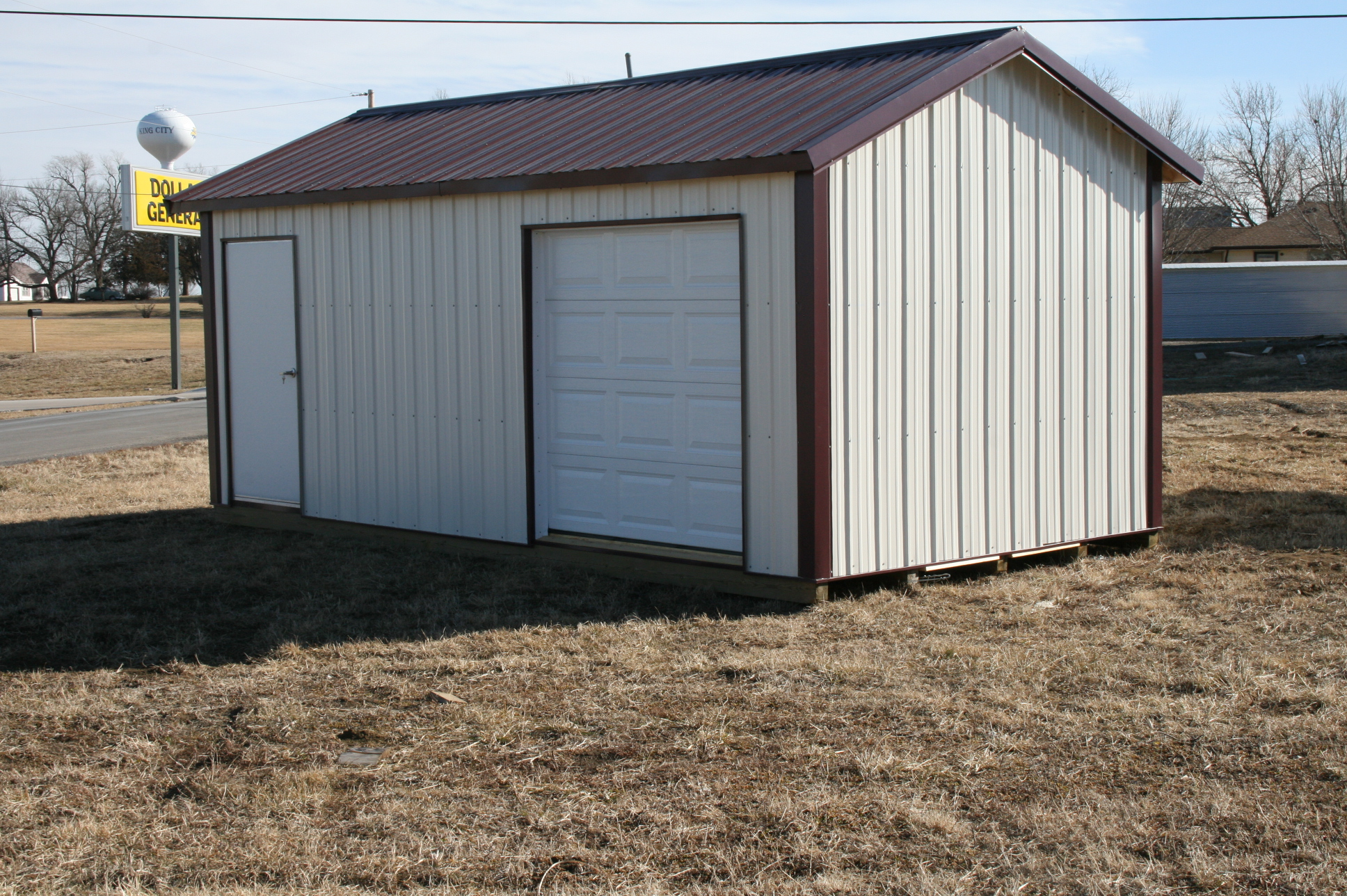 Portable Tool Shed : Portable tool sheds shelters king city lumber mound